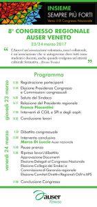 Programma 8 Congresso Auser Veneto