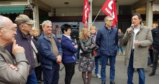Nuova sede SPI CGIL a Padova: inaugurazione con il sindaco Giordani