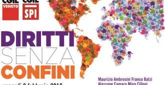 Diritti senza confini – immigrazione, accoglienza, lavoro, inclusione – 9 febbraio Padova