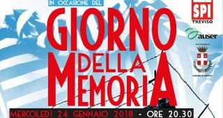 Parole e immagini per non dimenticare, 24 gennaio celebrazione Giorno della memoria a Oderzo (TV)