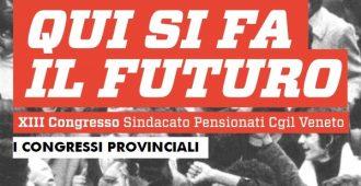 Congressi territoriali dello Spi Cgil in Veneto: una settimana di lavori da Belluno a Vicenza