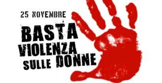 25 novembre: giornata internazionale dell'eliminazione della violenza  sulle donne