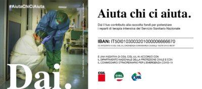 Aiuta chi ci aiuta. Prosegue la campagna nazionale di Cgil Cisl Uil per sostenere il sistema sanitario nazionale